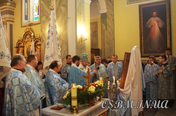 У Червонограді вшанували чудотворну ікону Кристинопільської Богородиці